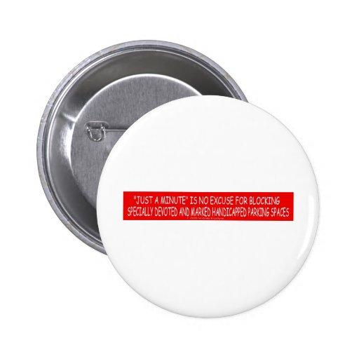 handicapped 9c button