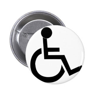 Handicapped Pinback Buttons