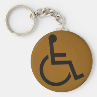 Handicapped Keychain - 1