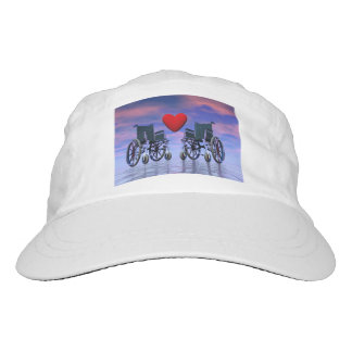Handicapped persons love - 3D render Hat