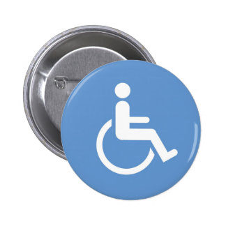 HANDICAPPED sign Buttons