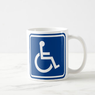 Handicapped Wheelchair Accessible Sign Coffee Mug