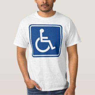 Handicapped Wheelchair Accessible Sign T-Shirt