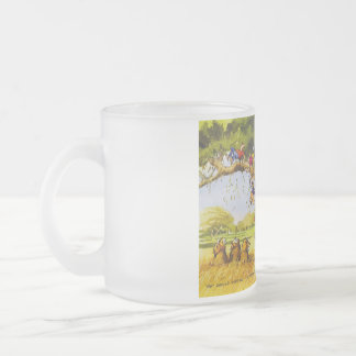 Handicaps Frosted Glass Coffee Mug