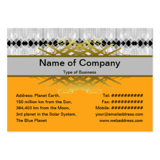 Handkerchief Large Business Cards (Pack Of 100)