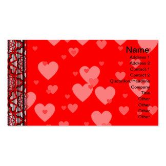 Handkerchief Pack Of Standard Business Cards