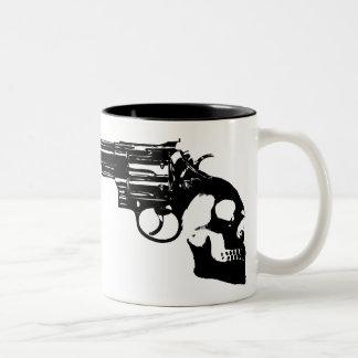 Handle of Death Bang! Two-Tone Coffee Mug