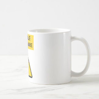 Handle With Care Coffee Mug Hard Hat Edition
