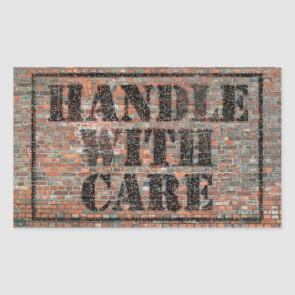 handle with care sticker
