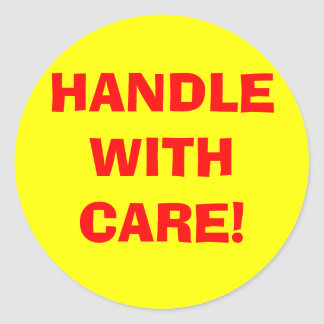 Handle With Care Stickers