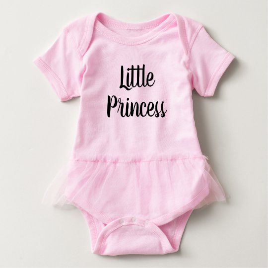 Handlettered baby clothes Little princess bodysuit