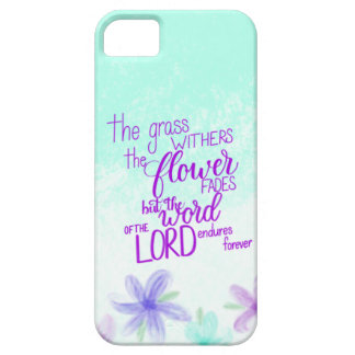 Handlettered Bible Verse iPhone Case, Scripture Case For The iPhone 5