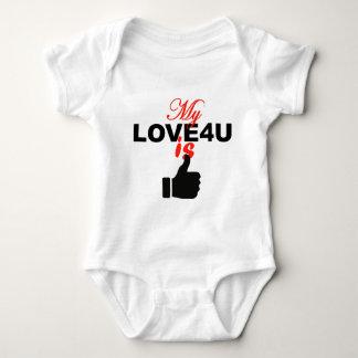 handlove X Baby Bodysuit