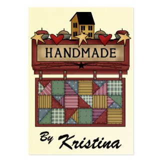 Handmade 2 By Business / Enclosure Card - SRF Large Business Card