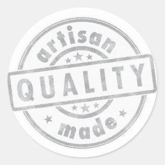 Handmade Artisan Quality Sticker