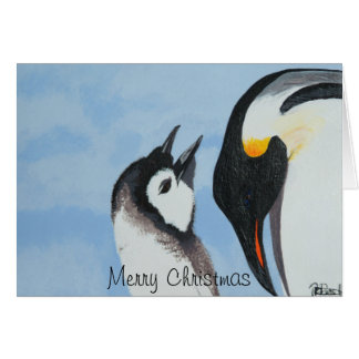 Handmade artist christmas and new year cards. card