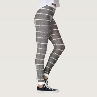 handmade artwork in digital design Leggings
