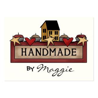"""Handmade By"" Card - SRF Large Business Card"