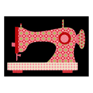 """""""Handmade By"""" Sewing / Seamstress / Craft - SRF Large Business Card"""