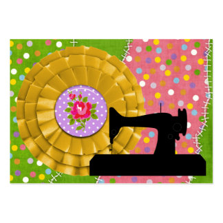 """""""Handmade By"""" Sewing - SRF Large Business Card"""