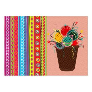 """Handmade By"" - SRF Large Business Card"