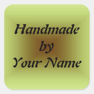 Handmade  by Template sticker
