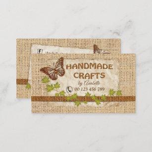 Handmade goods business cards business card printing zazzle ca handmade crafts business card colourmoves