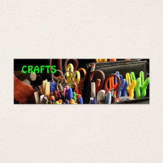 handmade crafts mini business card