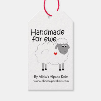 Handmade for Ewe Hangtag Pack Of Gift Tags