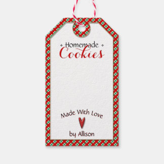 Handmade & Homemade • Cookies | Crafts • To | From Gift Tags
