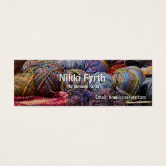 Handmade Knits business card