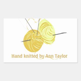 Handmade Knitting Sticker