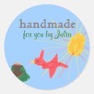 """Handmade"" label"