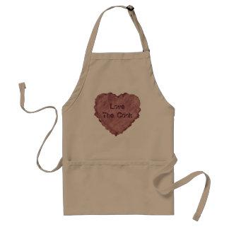 Handmade Paper Heart 009 Standard Apron