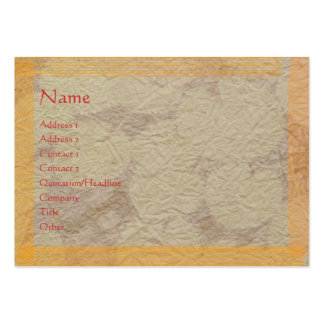 Handmade Paper LOOK only (choose your paper choice Business Cards