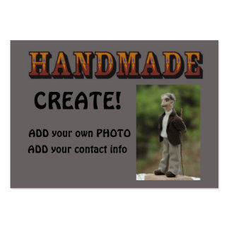 handmade - ready to customize 3 large business card