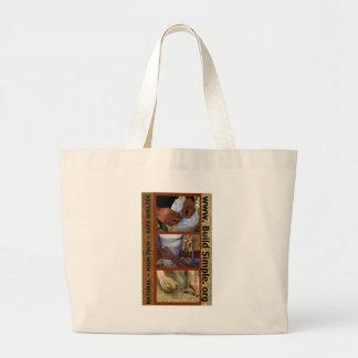 Handmade Shelter Large Tote Bag