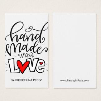 HANDMADE WITH LOVE, BUSINESS CARD