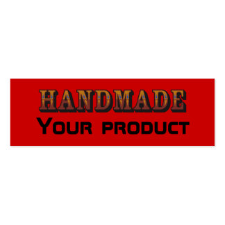 handmade, Your product Mini Business Card