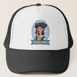 Handome Pirate is a Scallywag Trucker Hat