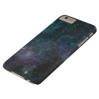 Handpainted galaxy print phone case