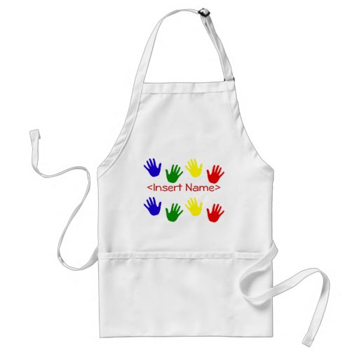 Handprints Aprons