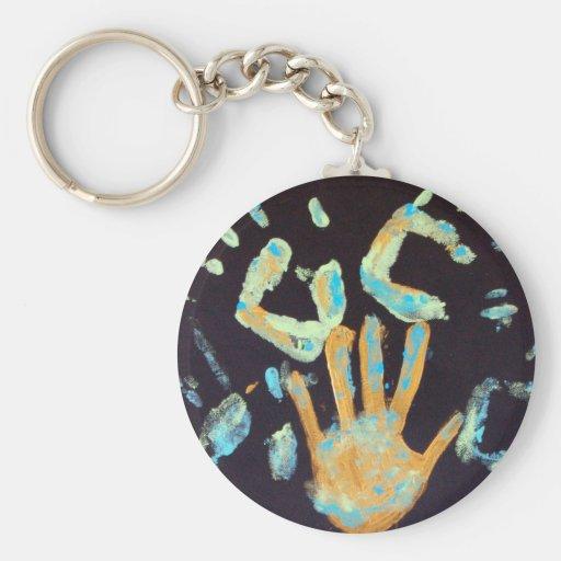 Hands 2 key chain