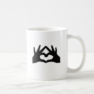 Hands Classic White Coffee Mug