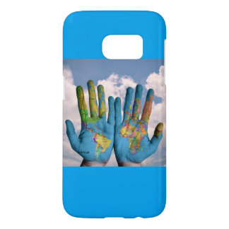 HANDS EARTH SAMSUNG GALAXY 7 SAMSUNG GALAXY S7 CASE