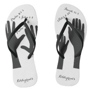 Hands Flip Flops