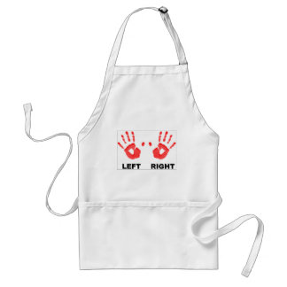 Hands left and right standard apron