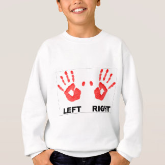 Hands left and right sweatshirt