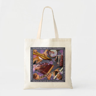 Hands Make the Music Tote Bag
