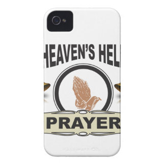 hands of help and prayer iPhone 4 Case-Mate case